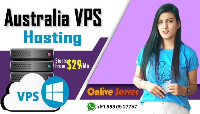 Onlive Server provides best Australia VPS Server Hosting solution at best rates