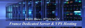 France Dedicated Server and VPS Hosting
