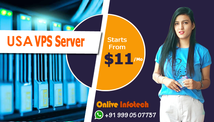 High Performance and Security with USA VPS Server Hosting for your Website