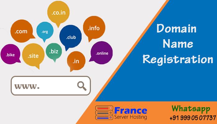 Domain Registration - France Server Hosting